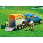 Játék: Playmobil 5223 - Lószállító terepjáró