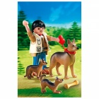 Játék: Playmobil 5211 - Kutyasétáltatás, német juhászkutyákkal