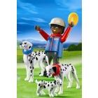 Játék: Playmobil 5212 - Kutyasétáltatás, dalmatákkal