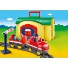 Játék: Playmobil 6783 - Aprók hordozható vonatszettje