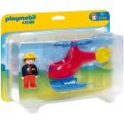 Játék: Playmobil 6789 - Az első tűzoltóhelikopterem