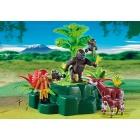 Játék: Playmobil 5415 - Zoológus gorillákkal és okapikkal
