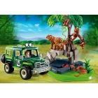 Játék: Playmobil 5416 - Terepjárós vadőr, tigrisekkel és orángutánokkal