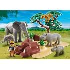 Játék: Playmobil 5417 - Állattankutató a szavannán