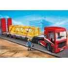 Játék: Playmobil 5467 - Elölfeljárós, gépszállító kamion