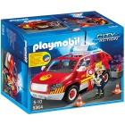Játék: Playmobil 5364 - Szirénázó, világító tűzoltóparancsnoki autó
