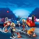 Játék: Playmobil 5365 - Lánglovagok a tűzcsapnál