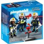 Játék: Playmobil 5366 - Bevetésre kész tűzoltók