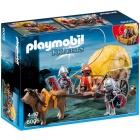 Játék: Playmobil 6005 - Szalmaszállító sólyom-lovagok