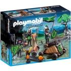 Játék: Playmobil 6041 - Farkaslovagok dárdavetővel
