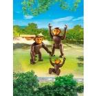 Játék: Playmobil 6650 - Csimpánzok