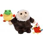 Játék: Pop Out Pets - Esőerdő - Majom, papagáj, béka