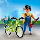 Játék: Playmobil 4791 - Kerépáros vízvezeték-szerelő