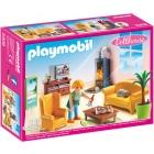 Játék: Playmobil 5308 - Nappali kandallóval