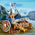 Játék: Playmobil 5371 - Vasbordájú Björn és kincsek