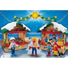 Játék: Playmobil 5587 - Mézes-élet karácsonyi vásár