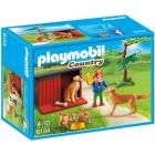 Játék: Playmobil 6134 - Béci és a retriverpajtik