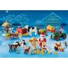 Játék: Playmobil 6624 - Adventi naptár - Kisállatok karácsonya