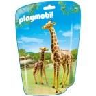 Játék: Playmobil 6640 - Zsiráf és kicsinye