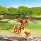 Játék: Playmobil 6645 - Tigrisek és a kis tigriskölyök