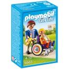 Játék: Playmobil 6663 - Tolószék segít a gyógyulásban