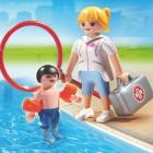 Játék: Playmobil 6677 - Felkészült úszóedző