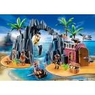 Játék: Playmobil 6679 - A bevehetetlen kalózrejtek