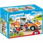 Játék: Playmobil 6685 - Jön a segítség, a mentőautó