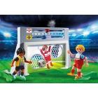 Játék: Playmobil 6858 - Kapura rúgás