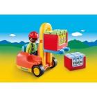 Játék: Playmobil 6959 - Targoncás Tóbiás