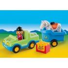 Játék: Playmobil 6958 - Irány a lovarda!
