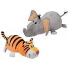 Játék: Plüsstesók - Elefánt és Tigris