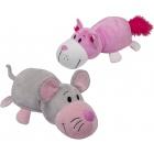 Játék: Plüsstesók - Rózsaszín cica és Egér