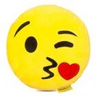 Játék: HappyFace - Emoji Párna - Csókos