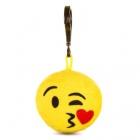 Játék: HappyFace - Emoji Kulcstartó - Csókos