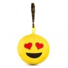Játék: HappyFace - Emoji Kulcstartó - Szerelmes