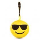 Játék: HappyFace - Emoji Kulcstartó - Szemcsis