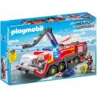 Játék: Playmobil 5337 - Reptéri tűzoltóautó