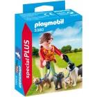 Játék: Playmobil 5380 - Ebparadicsom kutyasétáltatás