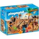 Játék: Playmobil 5387 - A sírfosztogatók tábort vernek