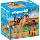 Játék: Playmobil 5389 - Núbiai harcos felfegyverzett dromedárral