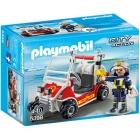 Játék: Playmobil 5398 - Csörlős reptéri esetkocsi