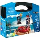 Játék: Playmobil 5655 - Kalóztutaj szett