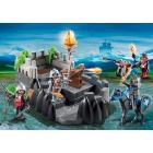 Játék: Playmobil 6627 - Bástyavédő sárkánylovagok