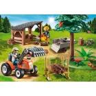 Játék: Playmobil 6814 - Favágók, munka közben
