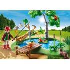 Játék: Playmobil 6816 - Erdei horgásztó