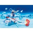 Játék: Playmobil 6833 - Jégrobi a korongkilövőben