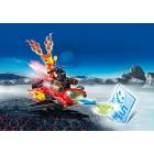 Játék: Playmobil 6834 - Lángmanó a korongkilövőben