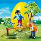 Játék: Playmobil 6839 - Slackline, gumikötélen a szabadban - Tojáspersely