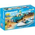 Játék: Playmobil 6864 - Motorcsónak-túra